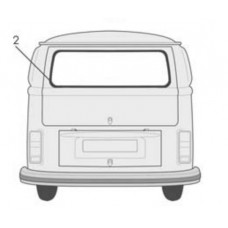VW Kombi Rear Window Seal 1964 to 1979 Made in Germany