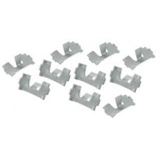 Beetle Running Board Molding clips (10 pieces) 1968 to 1972
