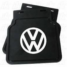 VW Logo'ed Mud Flaps Pair