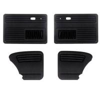 Door Panel Kit 4 Piece Black VW Beetle 1968 to 1977