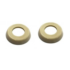 Door Handle Buffer VW Kombi 1958 to 1963 Pair Ivory