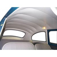 VW Beetle Headliner Kit 1968 to 1977 Ivory
