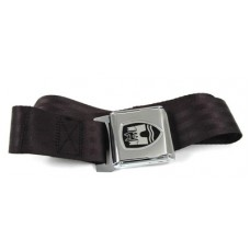 Quality Static Two point seat belt with crest logo and chrome buckle