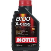 Motul 8100 X-cess 5w 40 100% synthetic Oil 1 Ltr