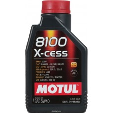 Motul 8100 X-cess 5w 50 100% synthetic Oil 1 Ltr