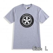"""TMN """"T"""" Shirt Porsche Fuch's  (Grey-Large)"""