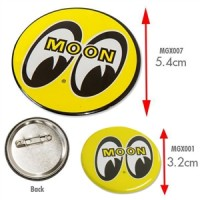 Moon Mooneyes Badge 32mm