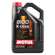 Motul 8100 X-cess 5w 50 100% synthetic Oil 5 Ltr
