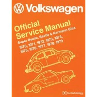 VW Workshop Manual Beetle & Karmann Ghia, 1970-1979