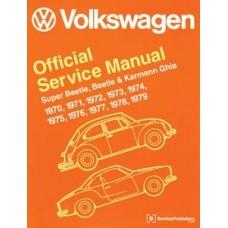 VW Workshop Manual Beetle & Karmann Ghia, 1970-1979
