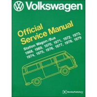VW Workshop Manual Kombi 1968 to 1979