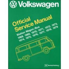 VW Workshop Manual Kombi 1968 to 1979