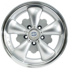 Silver GT5 Spoke Wheel for Late VW Kombi (5 X 112 Bolt pattern)