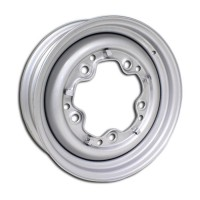 VW Silver Steel Wheel 4.5J x 15'' with 5 X 205 Stud Pattern (Smooth)