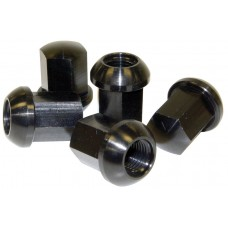 Porsche Alloy Wheel Nuts M14 Black