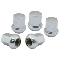 Porsche Alloy Wheel Nuts M14 Chrome