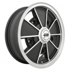 "BRM Wheel 5 X 205 Black 6.5"" wide"