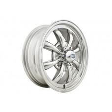 EMPI 8 Spoke Wheel, 15x5.5 (4x130 Pattern) Polished