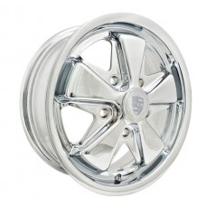 "Porsche Fuchs 5.5"" Chrome Wheel 5 X 130 Pattern"