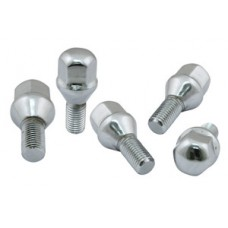 EMPI Chrome wheel Bolt 12mm (Set of 5)