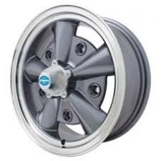 EMPI 5 Rib Wheel Gun Metal